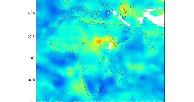 Afrika'da ki Kuraklık NASA Uydusu Tarafından Tespit Edilmişti