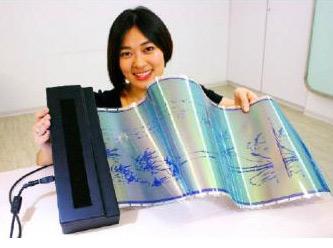"Yazılıp Silinebilen Yeni Teknoloji ""i2r E-Paper"""