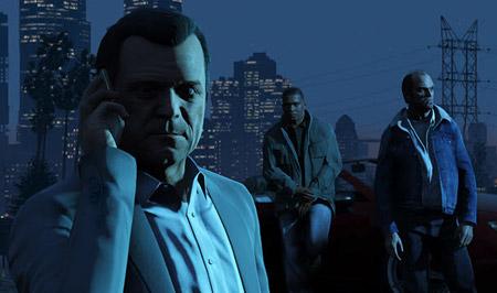 Merakla Beklenen GTA 5'in İlk Ekran Görüntüleri
