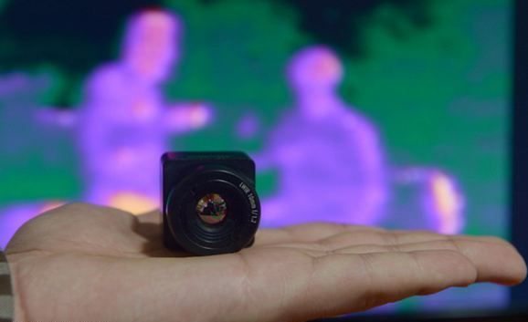 Türk Mühendislerden Minyatür Kızılötesi Kamera
