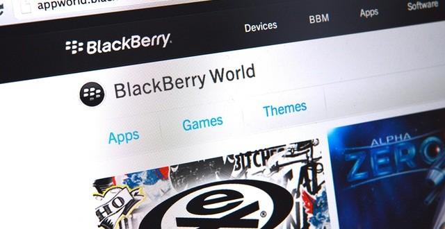 BlackBerry Uygulama Mağazası Hizmete Başladı