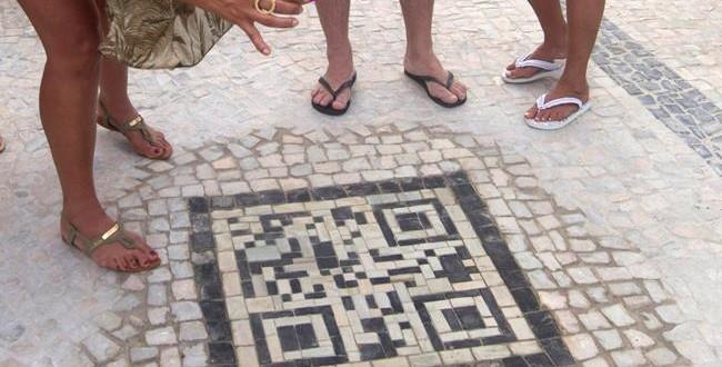 Turistlere Yol Kenrarındaki Barkodlarla Yardım
