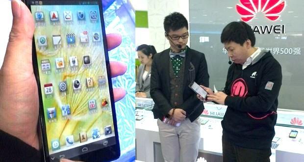 En Ağır Telefon Huawei's Ascend Mate