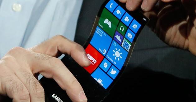 Samsung'dan Yeni Bir Haber Esnek Youm Ekran