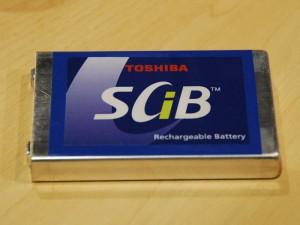 Toshiba hizli dolan SciB pil