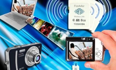Toshiba FlashAir Kablosuz Flash Bellek