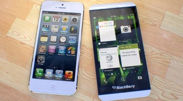 BlackBerry Z10 Farkını Gösteriyor