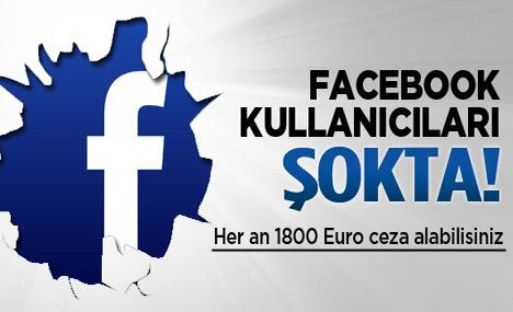 Facebook Kullanıcısına Almanya'dan Ceza