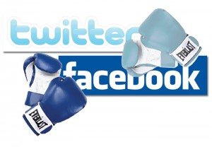 facebook twitter rekabeti suruyor