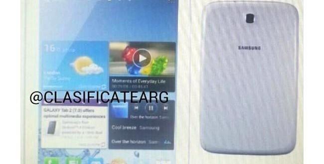 Galaxy Note 8.0 Tabletin Fotoğrafı Sızdırıldı