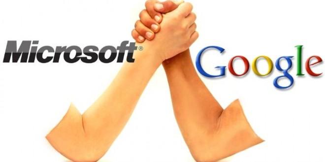 Microsoft Google Savaşı Devam Ediyor