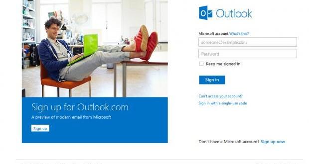 Outlook.com Tam Kapasite Çalışmaya Başladı