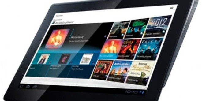 Dünyanın En İnce Tableti Sony'den Geldi