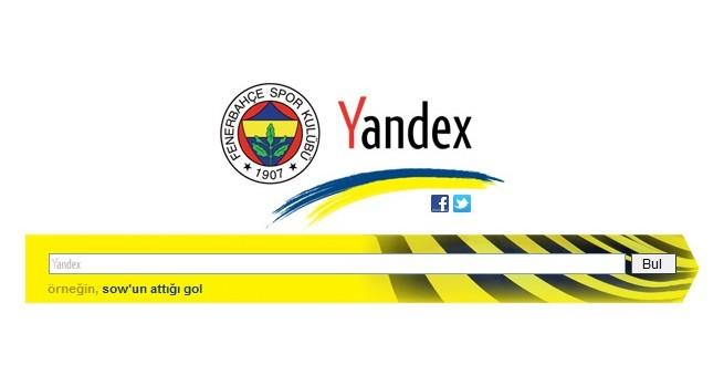 Yandex'in Fenerbahçeli Tarayıcısı