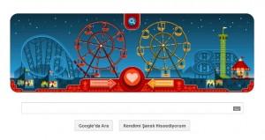 google 2013 sevgililer gunu Doodle