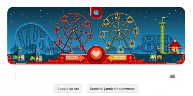 Google 14 Şubat Sevgililer Günü Doodle'ı İle Renk Kattı