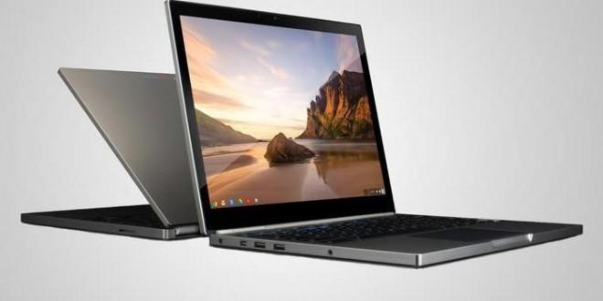 Google, Chromebook Pixel İle Bilgisayar Sektörüne Adım Attı
