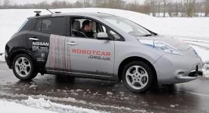 kendi kendine giden otomobil RobotCar UK