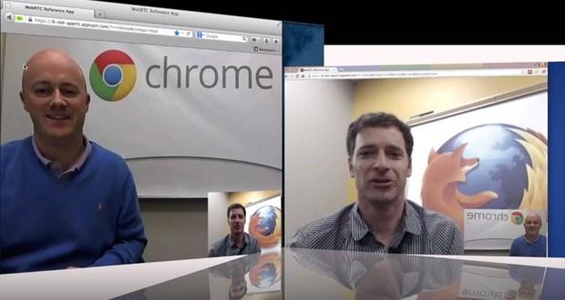 Google Chrome ve Firefox WebRTC Teknolojisini Tanıttı