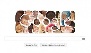 Dunya kadinlar gunu google doodle-womans day 2013