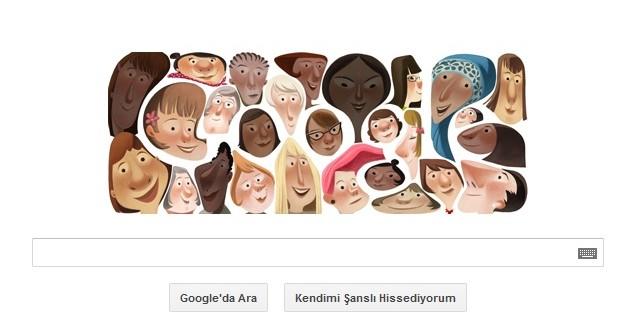 Google 8 Mart Dünya Kadınlar Günü'nü Unutmadı