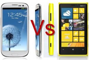 Nokia-Lumia-920-ve-Samsung-Galaxy-S3 karsilastirmasi