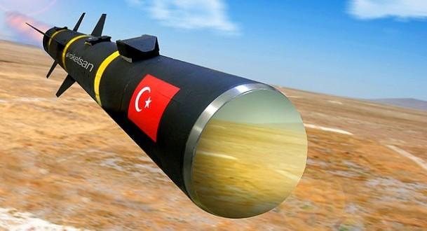 """Türkiye'nin İlk Yerli Üretim Tanksavar Füzesi """"UMTAS"""""""