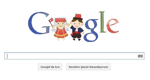 Google 23 Nisan'a Özel Doodle İle Karşımızda