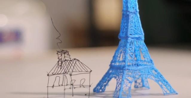 """Dünyada İlk 3D Yazan Kalem """"3Doodler"""""""