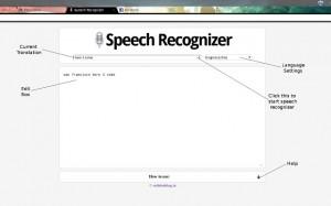 Google Chrome Web Speech ozelligi