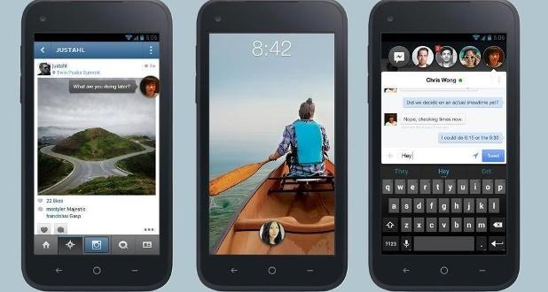 Facebook'un Akıllı Telefonu