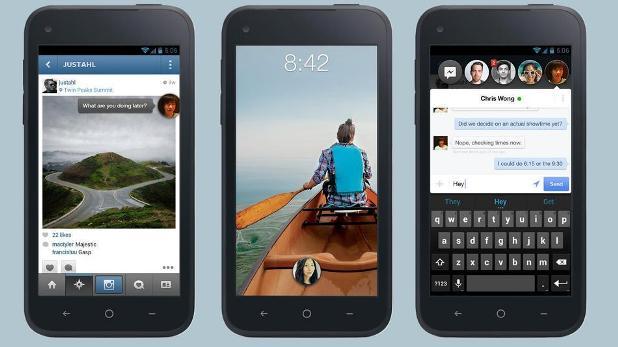 facebook home akilli telefon
