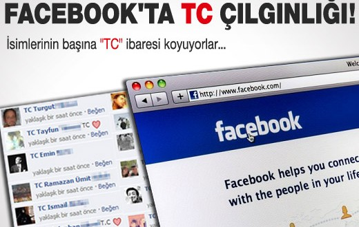 Facebook ve Twitter'da T.C. Protestosu