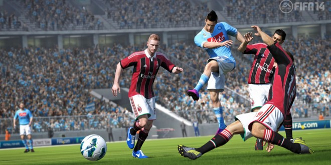 Fifa 2014'ün İlk Ekran Görüntüleri Yayınlandı