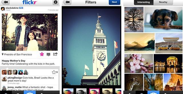 Flickr IOS Uygulamasının Sosyal Ağ Fonksiyonlarını Genişletti