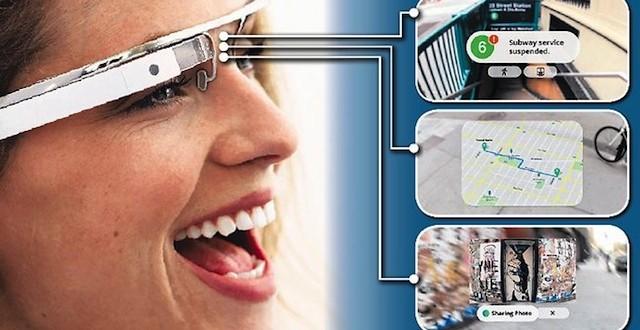 Google Glass'ın Arama, Kamera ve Ses Çeviri Videosu