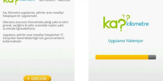 Türkiye Şehirler Arası Mesafe Uygulaması