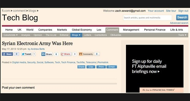 Financial Times Hacklendi
