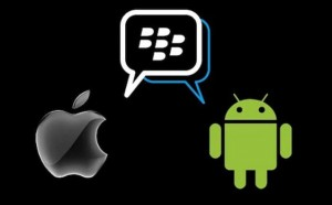 blackberry messenger iphone ve android