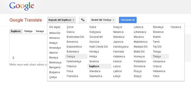 Şimdi de Google'a Kürtçe Baskısı