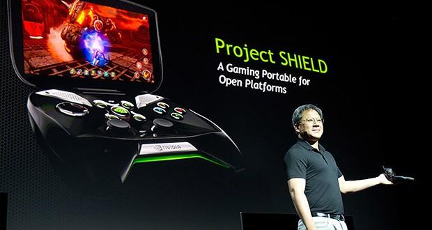 Nvidia Shield Oyun Konsolu Yakında