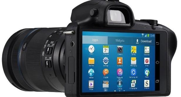 Samsung'dan Androidli Kamera Galaxy NX