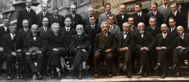 29 Bilim Adamı Aynı Karede Fotoğraflandı