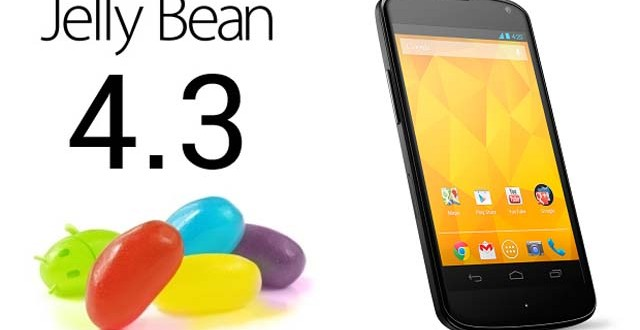 Android 4.3 Tanıtıldı