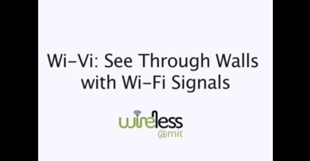 Wi-Fi Sinyalleriyle Duvarın Arkasını Gördüler