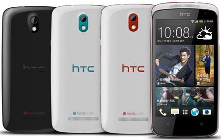 HTC, Desire 500'ü Tayvan'da Tanıttı
