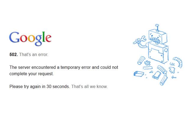 google-hata
