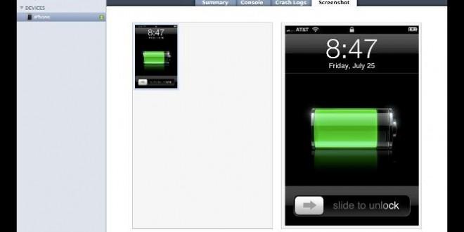 iPhone Ekran Fotoğrafı Çekme