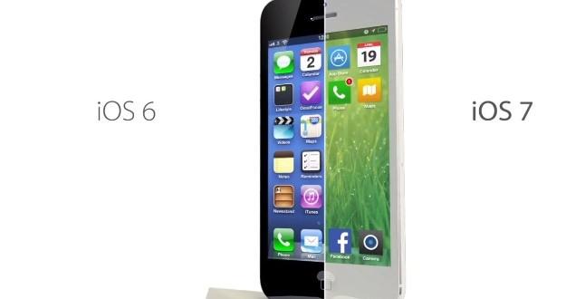 IOS 7 Kullanım Oranı Rekora Koşuyor