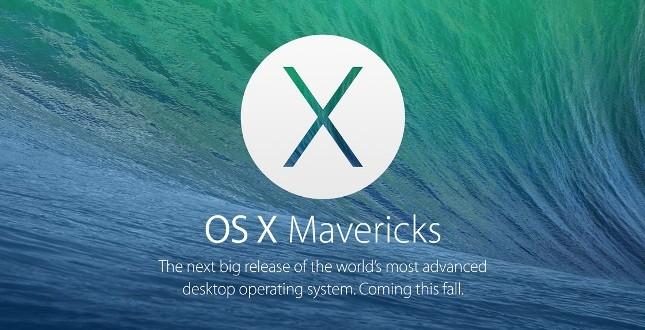 Apple OS X Mavericks Hakkında Herşey